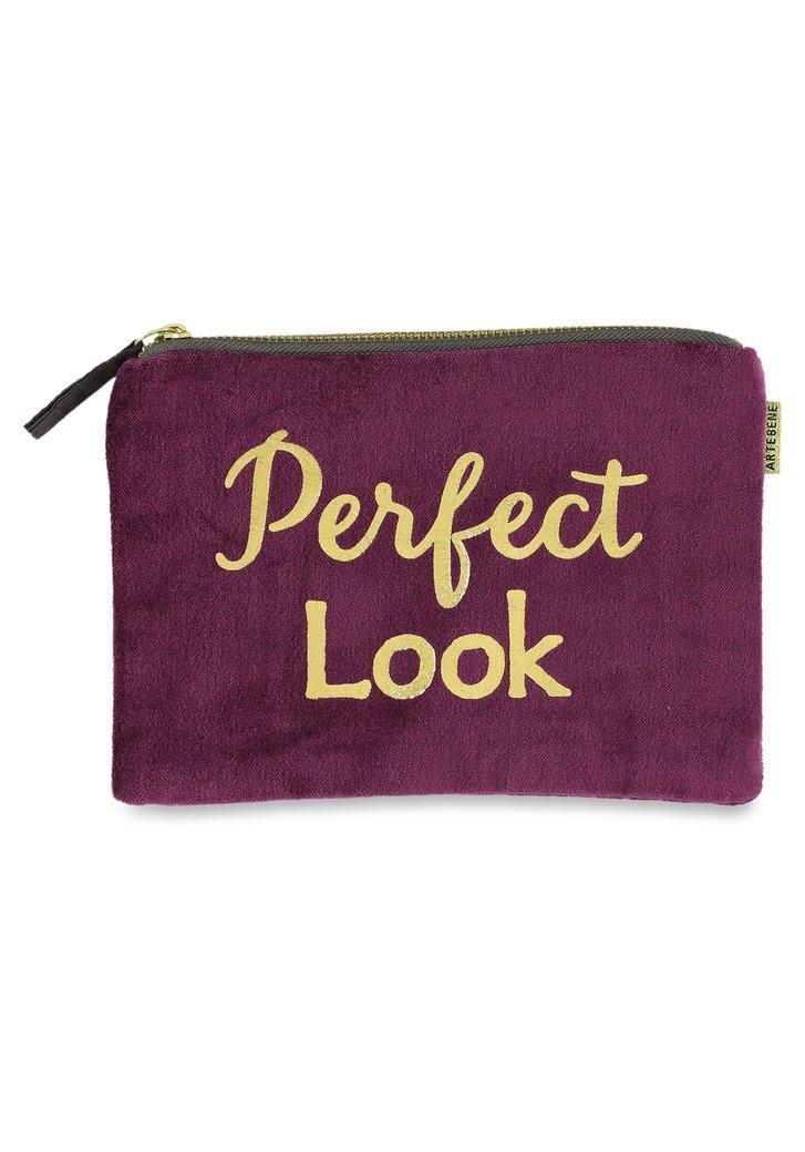 Sac mauve «Perfect look»