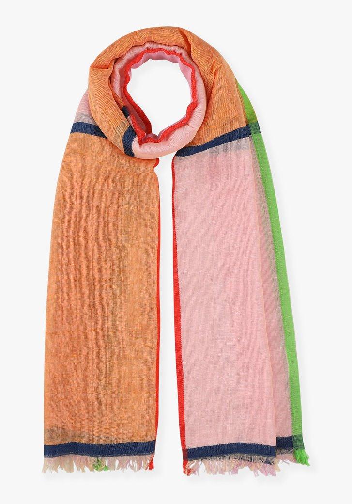 Sjaal in verschillende kleuren
