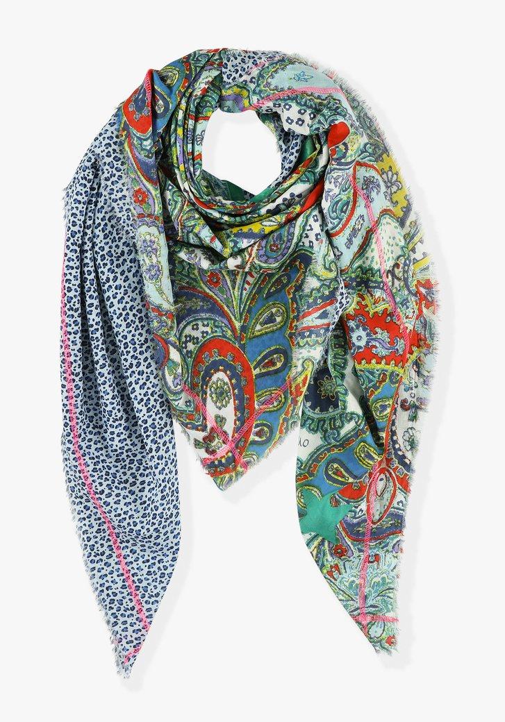 Sjaal: luipaard x paisley
