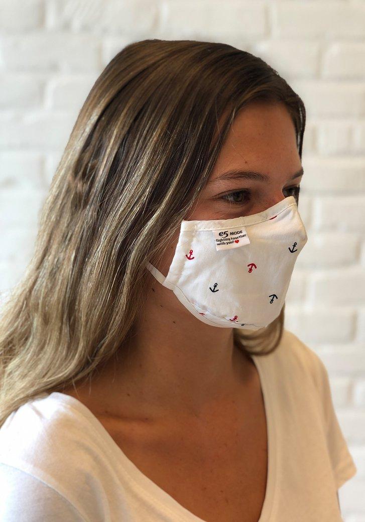Stoffen mondmasker - Kinderen - Ankers