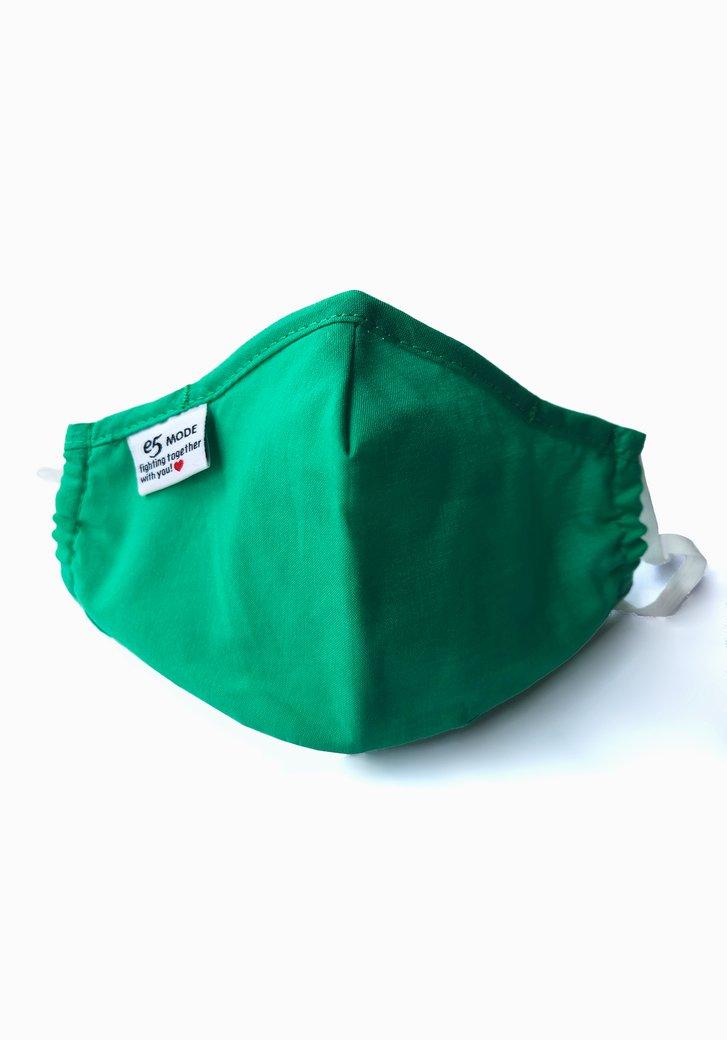 Stoffen mondmasker - Kinderen - Groen