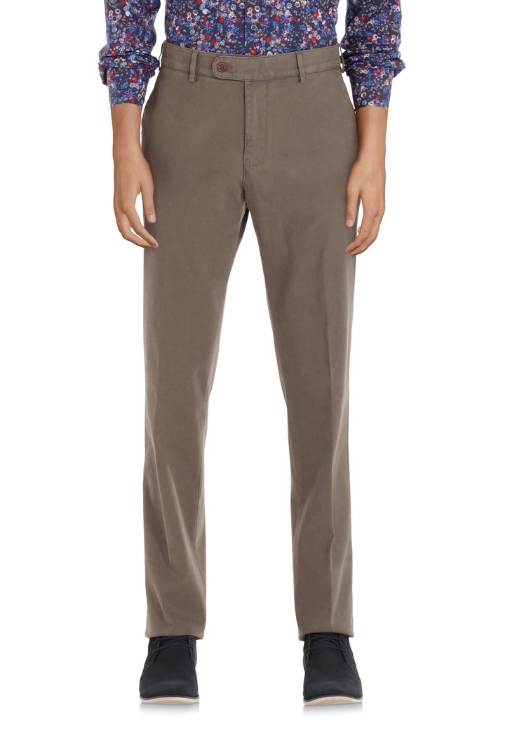 Taupe chino - Vancouver - regular fit