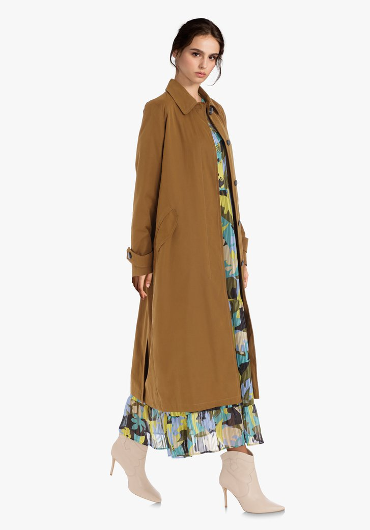 Trench marron clair