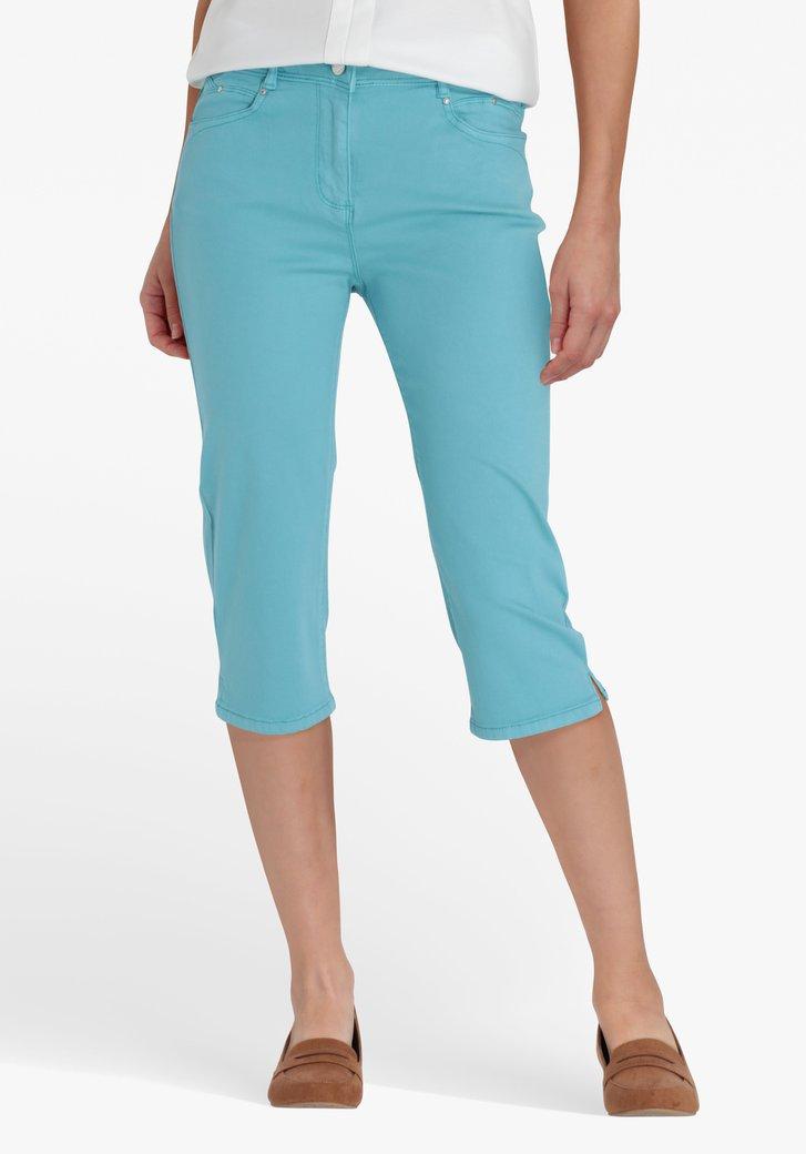 Turquoise kniebroek