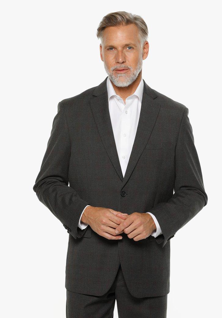 Veste de costume anthracite - Cable - comfort fit