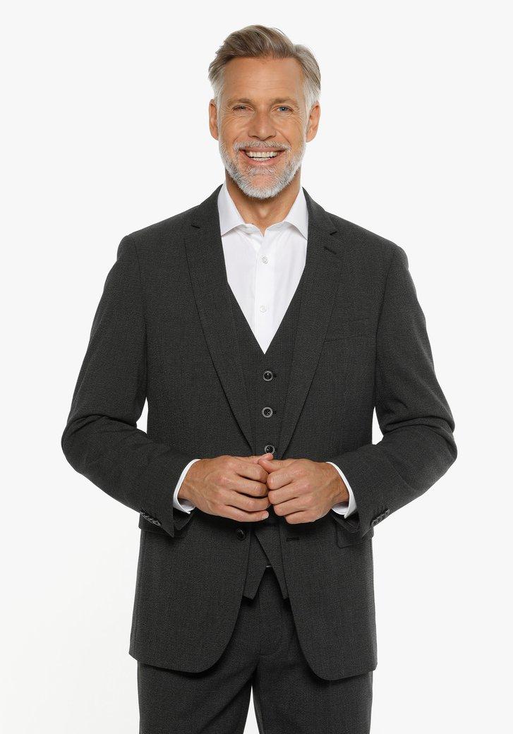 Veste de costume anthracite - regular fit