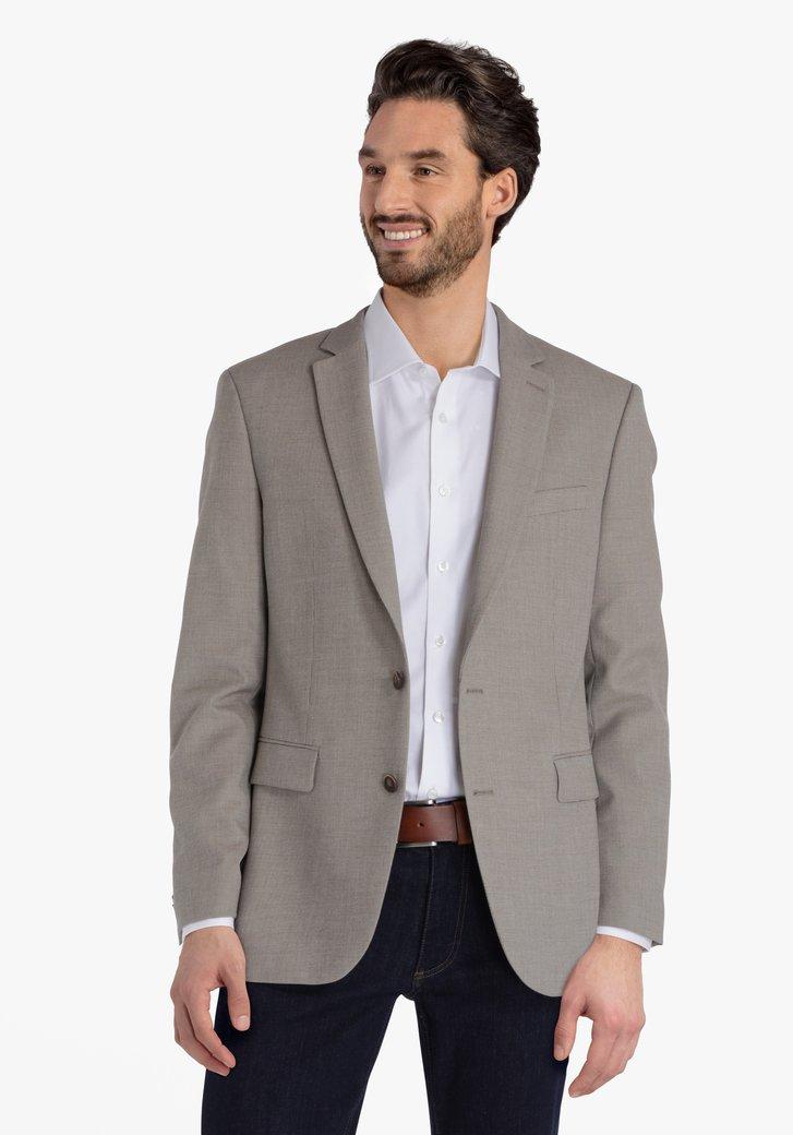 Veste de costume beige - regular fit