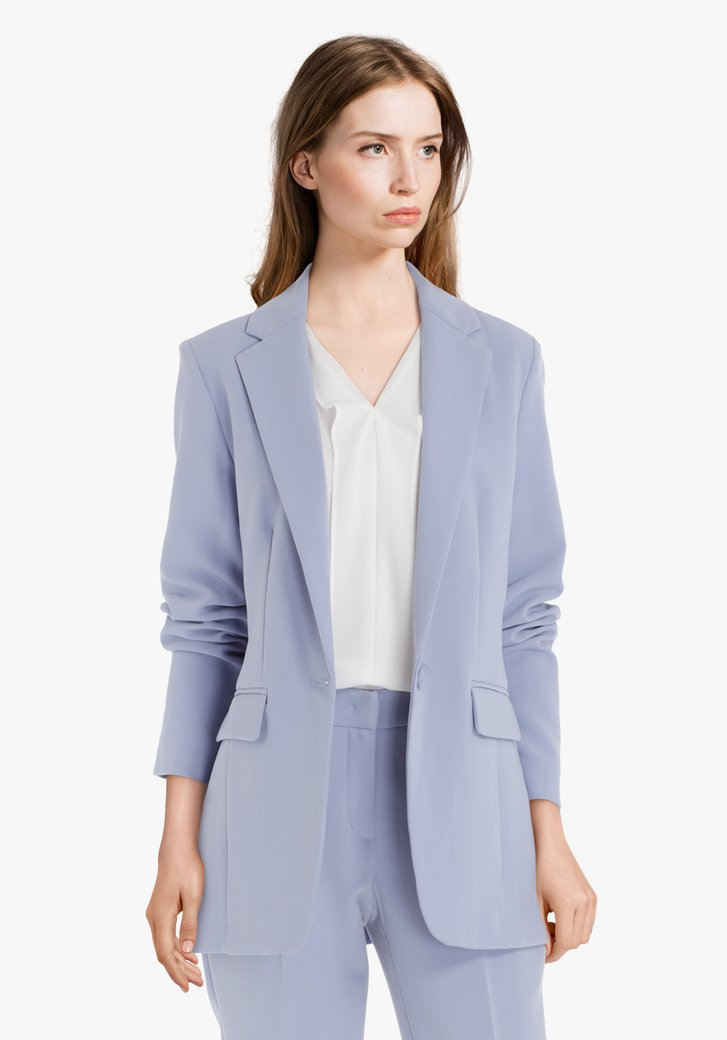 Veste de costume bleu clair
