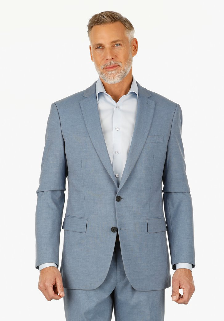 Veste de costume bleu clair - regular fit