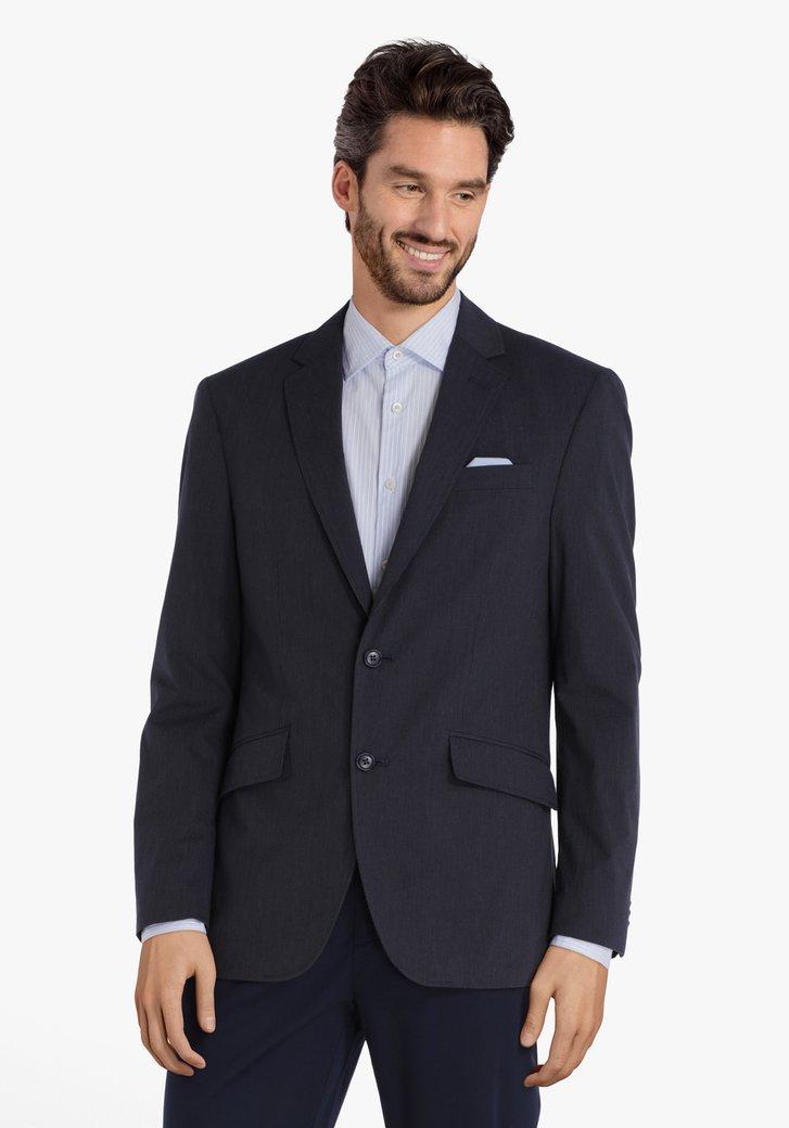 Veste de costume bleu marine rayures - modern fit