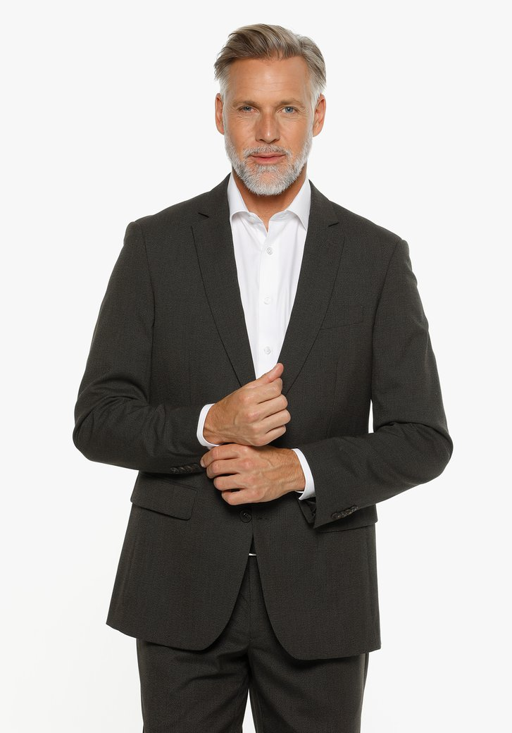 Veste de costume marron - Randy - regular fit