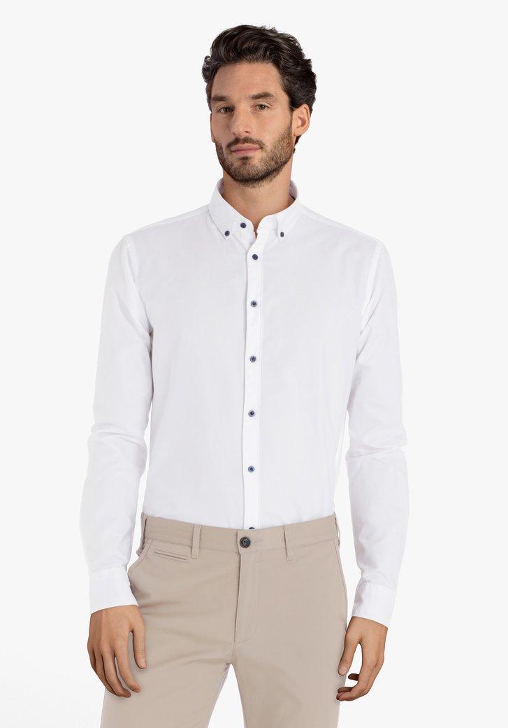 Afbeelding van Wit hemd – slim fit