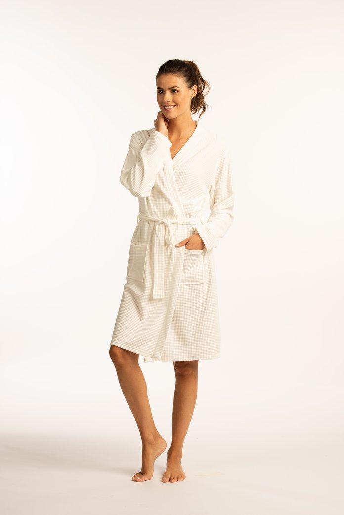 Afbeelding van Witte badjas