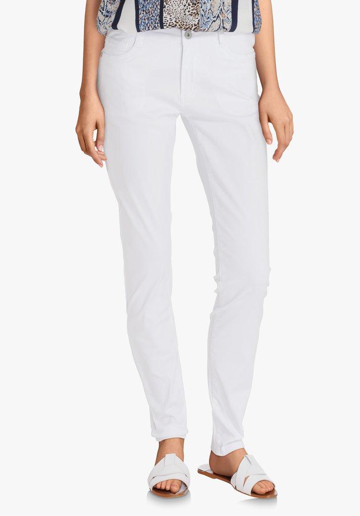 Witte broek - slim fit