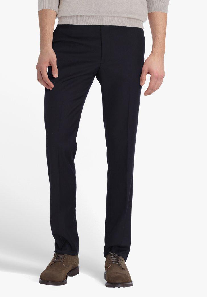 Zwart geklede broek - slim fit