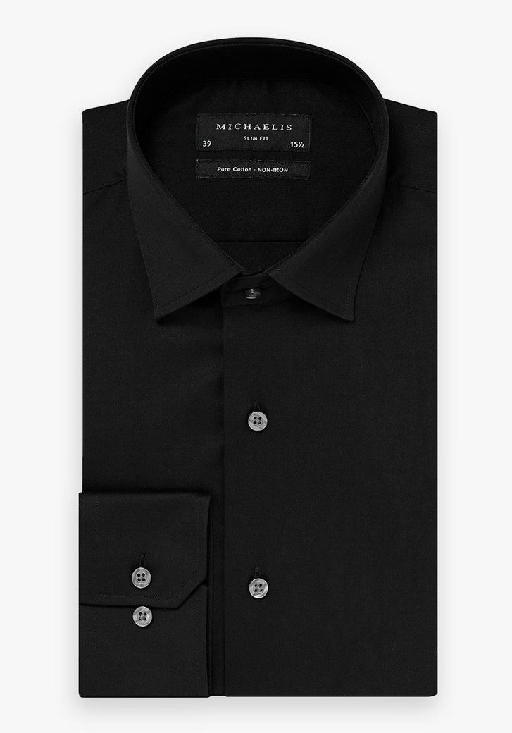 Zwart hemd -  Heren, merk: Michaelis