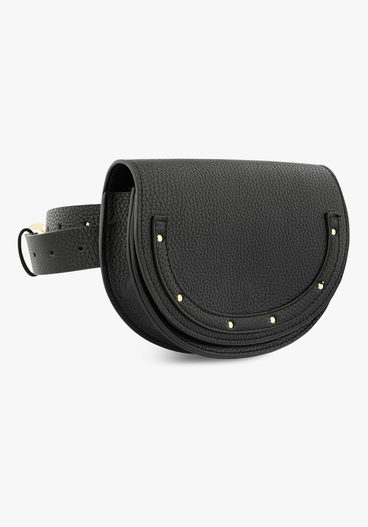 Zwart heuptasje of belt bag