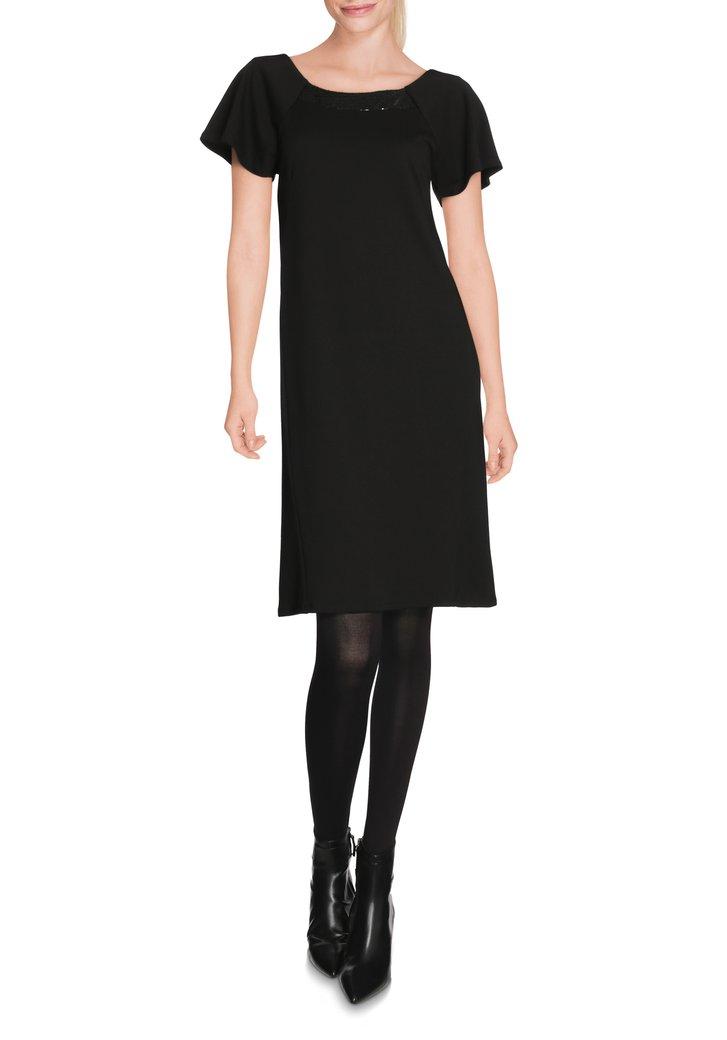 Zwart kleedje met pailletten