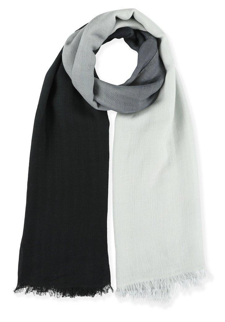 Zwart-wit foulard