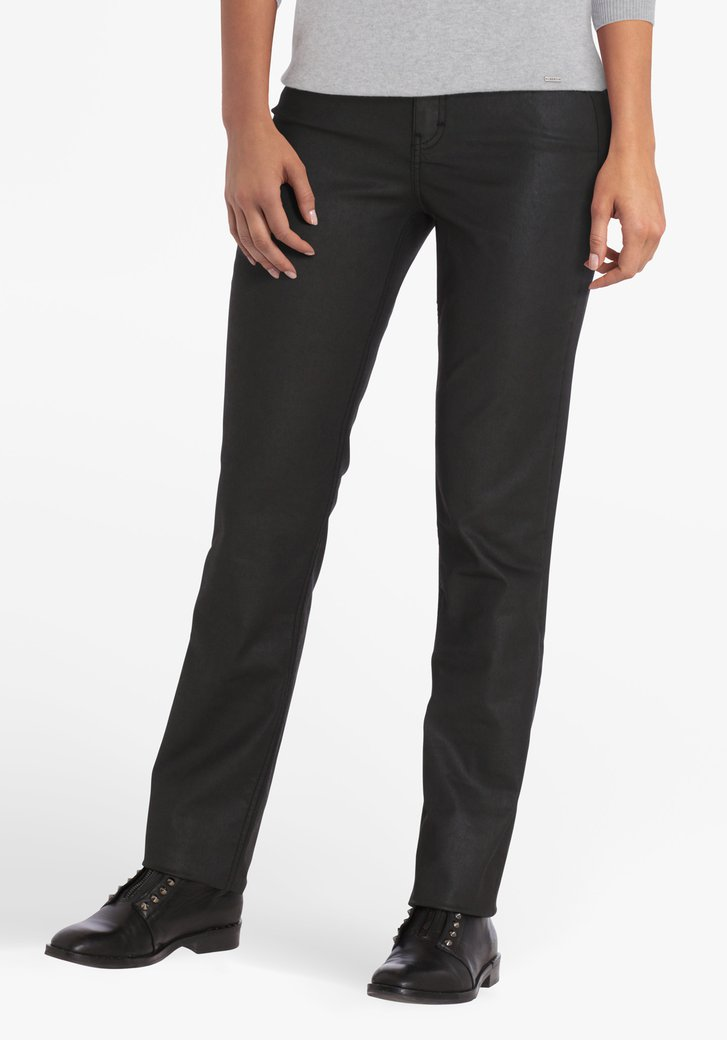 Zwarte broek - straight fit