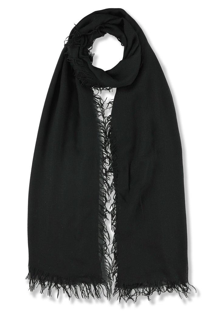 Zwarte foulard