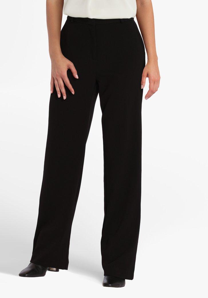 Zwarte geklede broek - straight fit