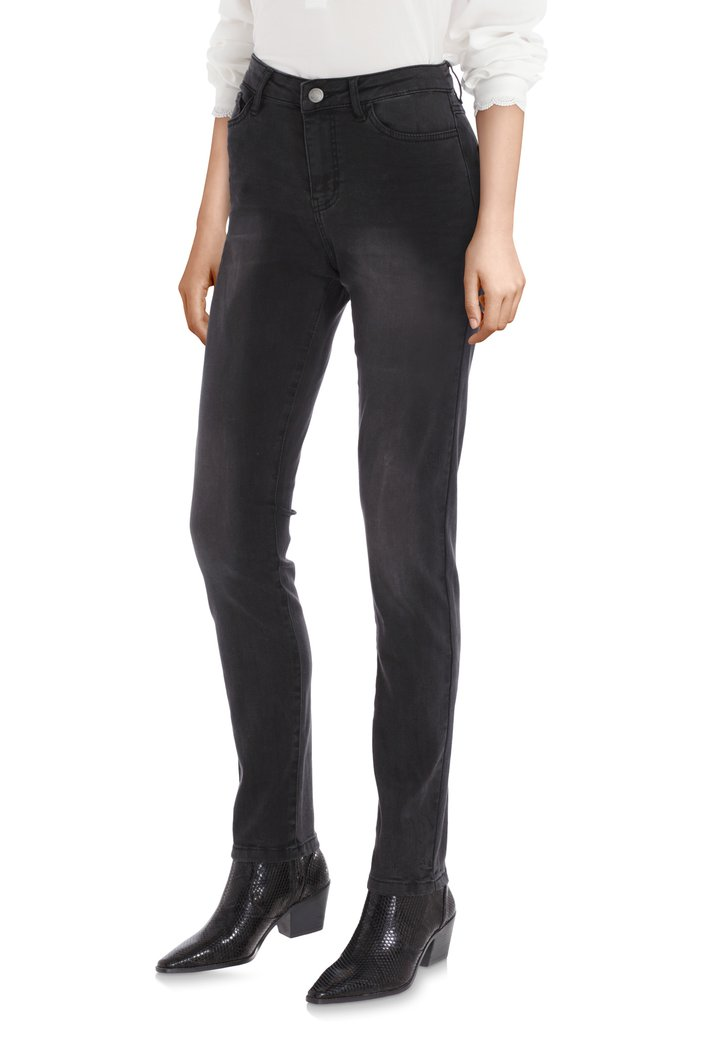 Afbeelding van Zwarte jeans - slim fit