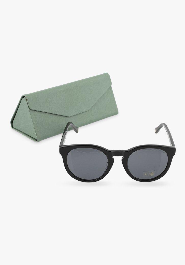 Zwarte zonnenbril